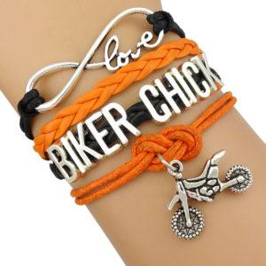 biker chick bracelet biker fashion