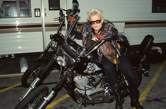 Billy Idol Motorcycle