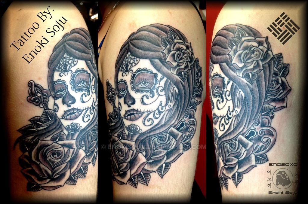 Amazing Skull Tattoos