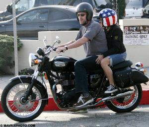 hugh laurie motorcycle