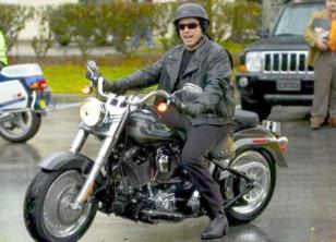 brad pitt motorcycle
