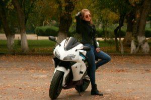 leather jacket women's biker fashion