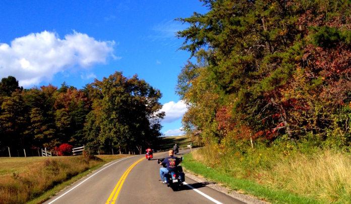 foliage, fall, ride