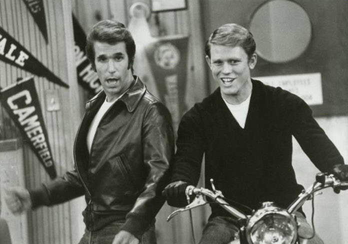 Fonzie, Ritchie, Happy Days