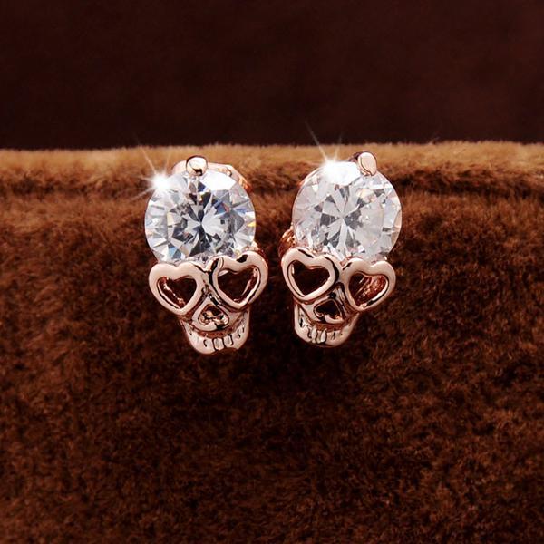 lady, earrings