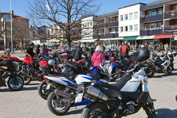 Bikers, Motorcycle Rally