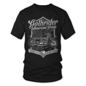 gothrider, t-shirt