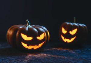 Pumpkins, Horseman, Halloween