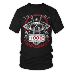 Goth rider T-shirt